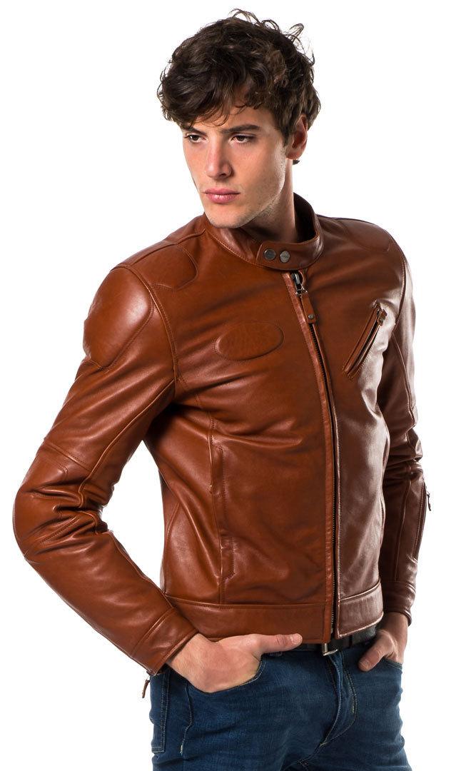 Spidi スピーディー Fast Back バイク用品 メンズ バイクウェア モトクロス レザージャケット 革ジャン ライダースジャケット