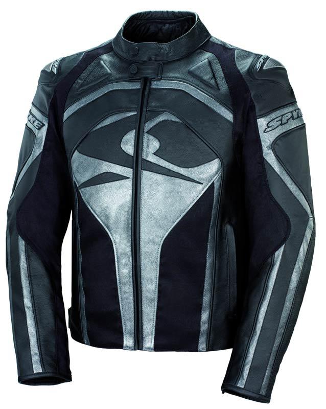 Spyke スパイク Raptor GP Motorcycle Leather Jacket バイク用品 メンズ バイクウェア モトクロス レザージャケット 革ジャン ライダースジャケット
