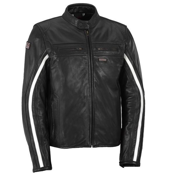 Spyke スパイク Tenacy Lady GP Retro Leather Jacket バイク用品 メンズ バイクウェア モトクロス レザージャケット 革ジャン ライダースジャケット