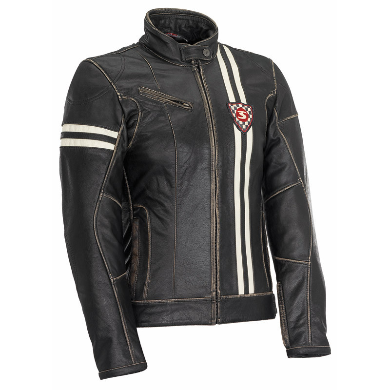 Spyke スパイク Rider Lady GP バイク用品 メンズ バイクウェア モトクロス レザージャケット 革ジャン ライダースジャケット