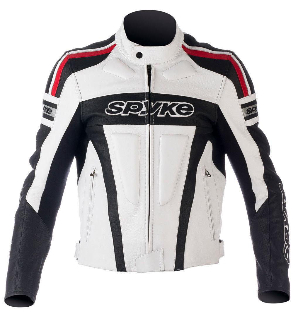 Spyke スパイク Kaver GP バイク用品 メンズ バイクウェア モトクロス レザージャケット 革ジャン ライダースジャケット