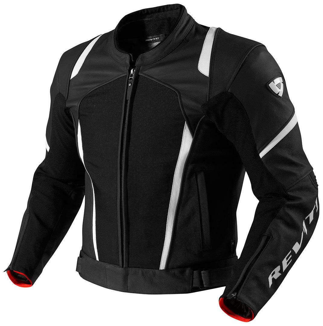 Revit Galactic Jacket バイク用品 メンズ バイクウェア モトクロス レザージャケット 革ジャン ライダースジャケット