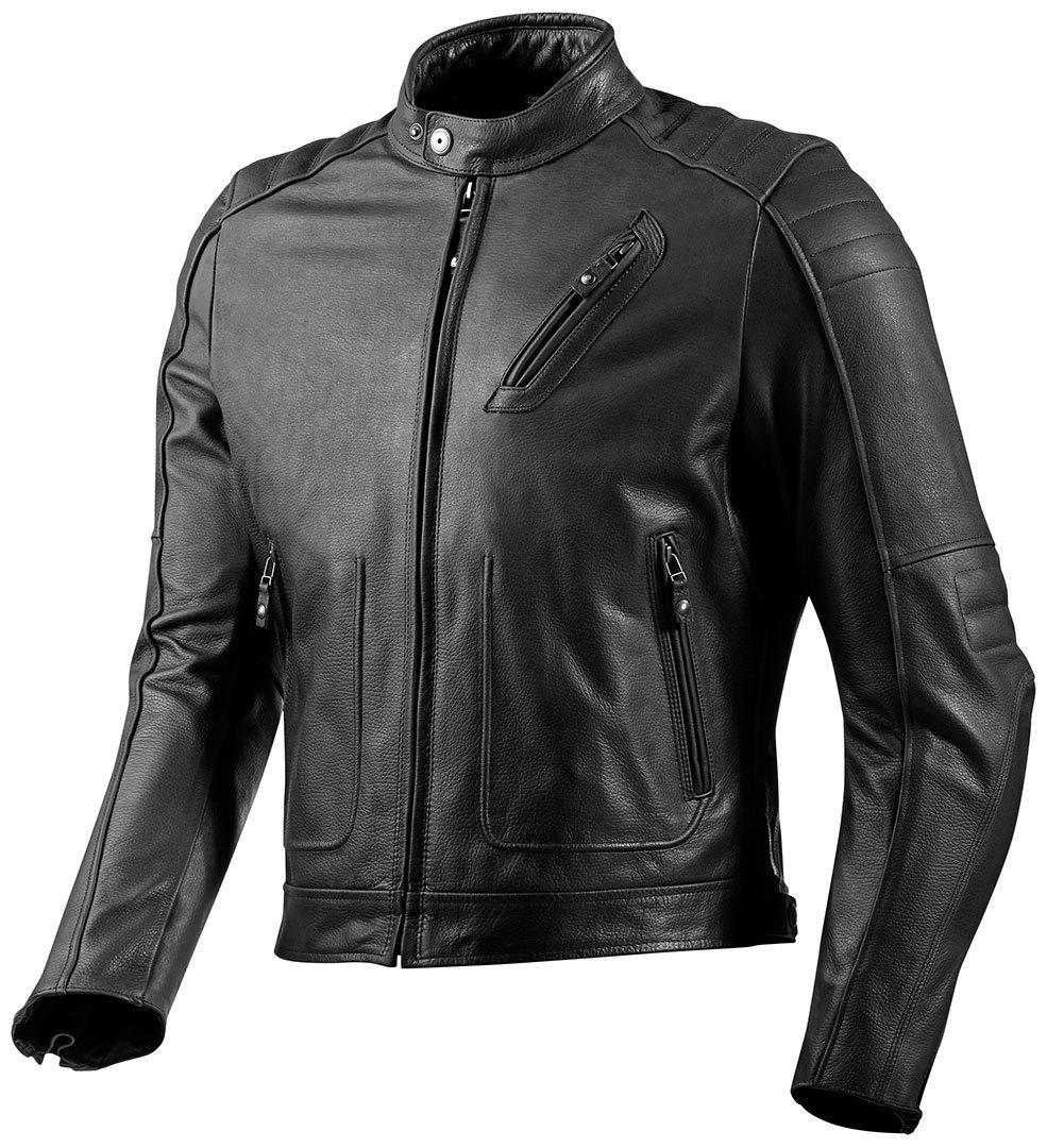 Revit Redhook バイク用品 メンズ バイクウェア モトクロス レザージャケット 革ジャン ライダースジャケット