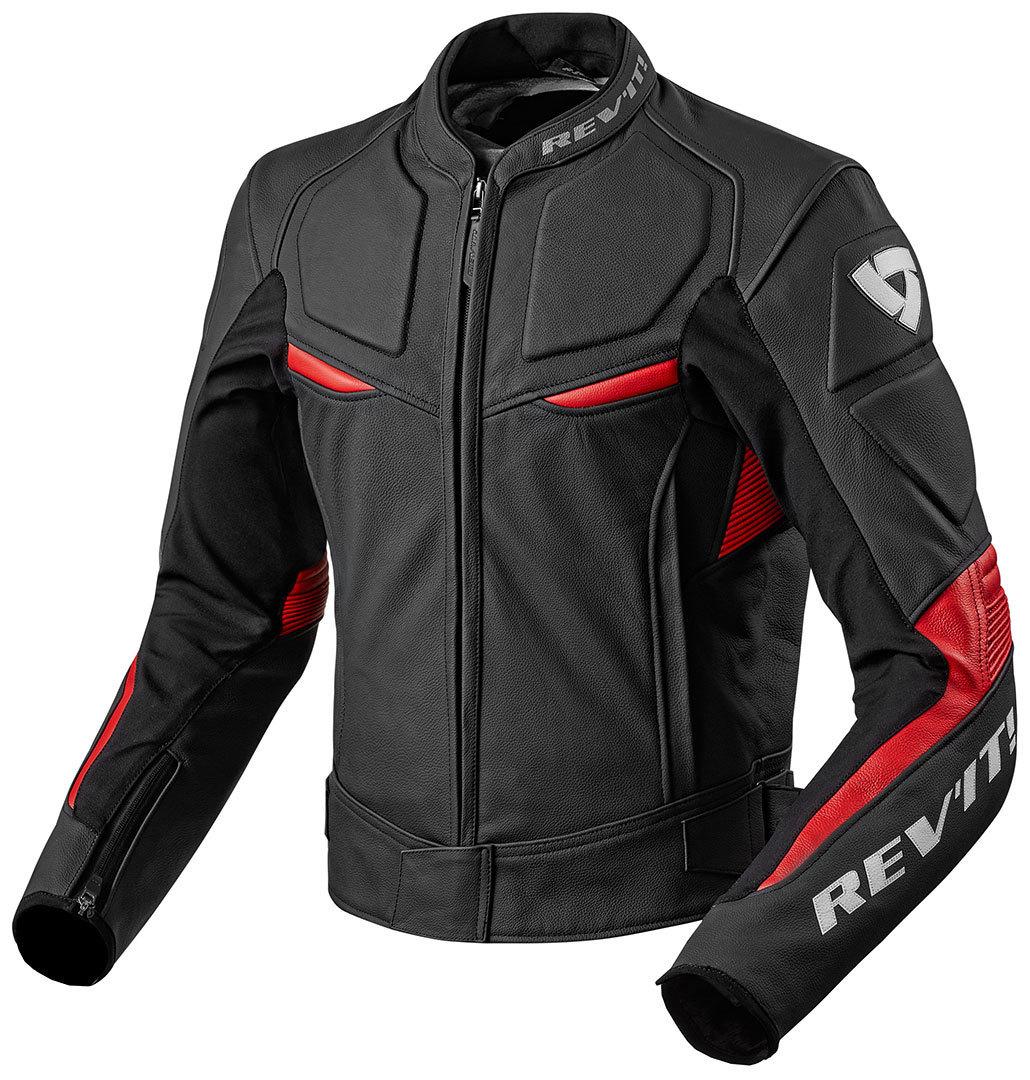Revit Masaru バイク用品 メンズ バイクウェア モトクロス レザージャケット 革ジャン ライダースジャケット