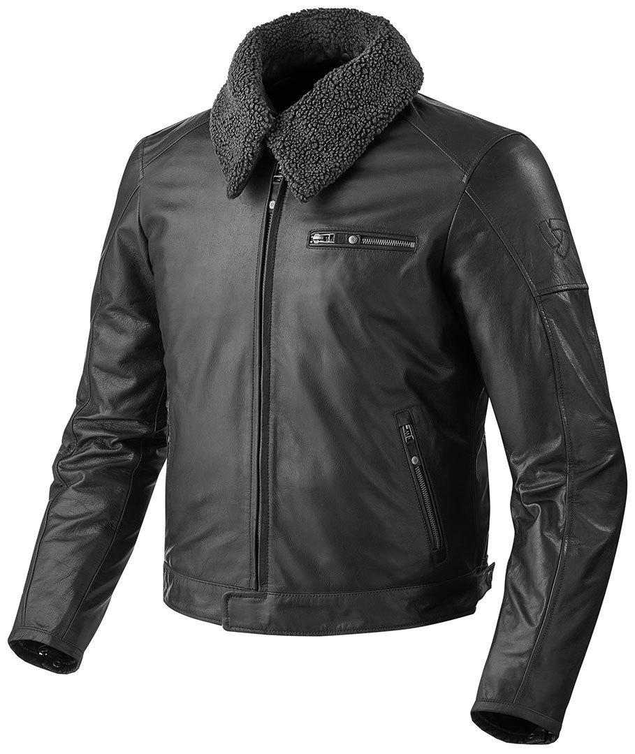 Revit Pilot バイク用品 メンズ バイクウェア モトクロス レザージャケット 革ジャン ライダースジャケット