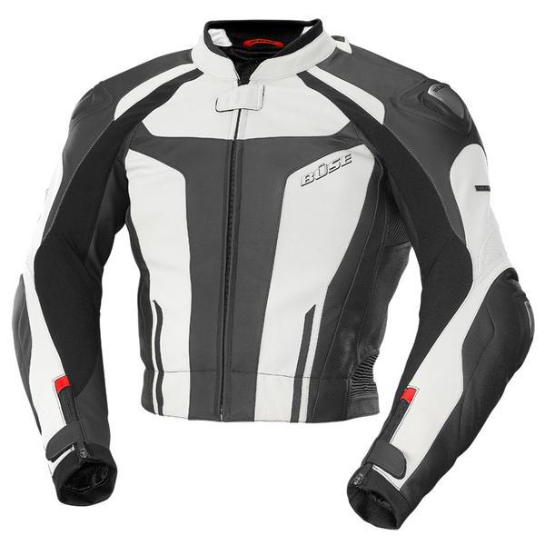 B?se Aragon Leather Jacket バイク用品 メンズ バイクウェア モトクロス レザージャケット 革ジャン ライダースジャケット