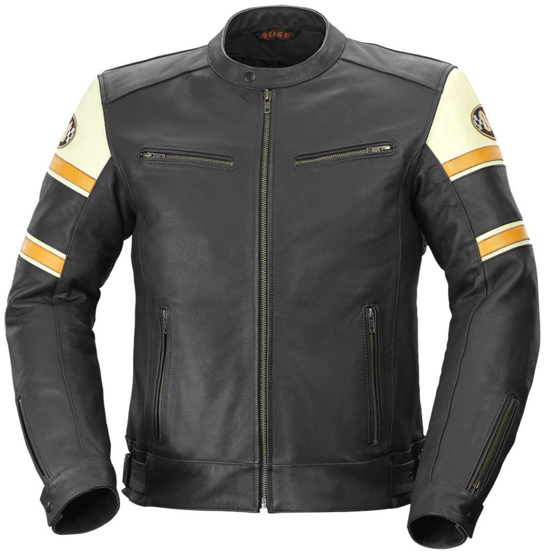 B?se Milestone Leather Jacket バイク用品 メンズ バイクウェア モトクロス レザージャケット 革ジャン ライダースジャケット