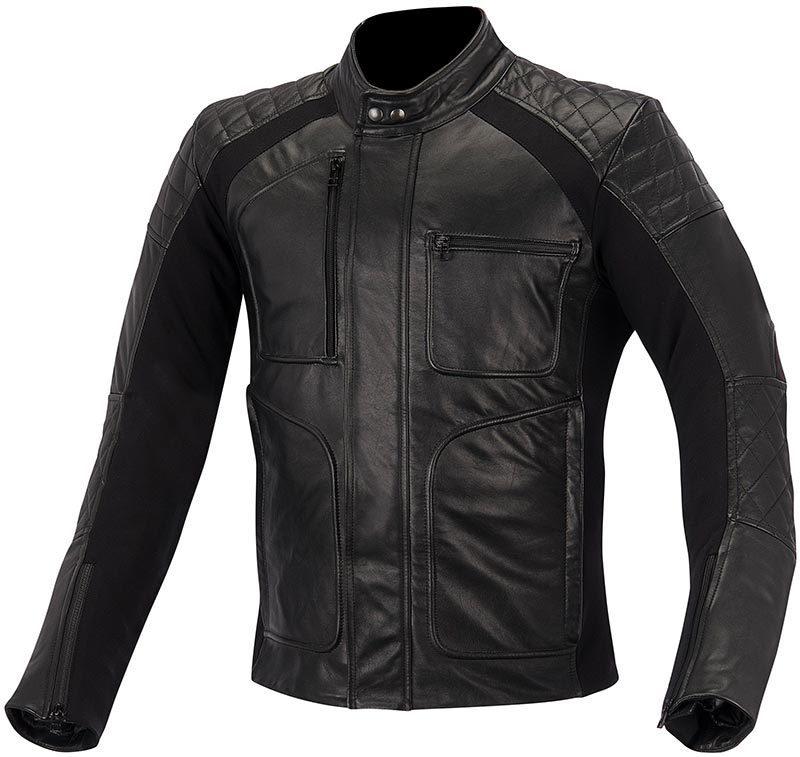 アルパインスターズ Alpinestars Hoxton バイク用品 メンズ バイクウェア モトクロス レザージャケット 革ジャン ライダースジャケット