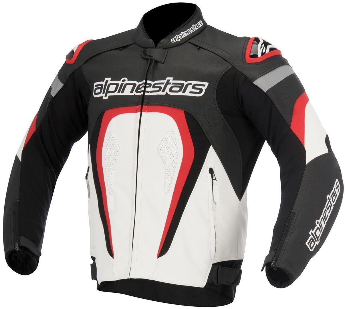 アルパインスターズ Alpinestars Motegi バイク用品 メンズ バイクウェア モトクロス レザージャケット 革ジャン ライダースジャケット