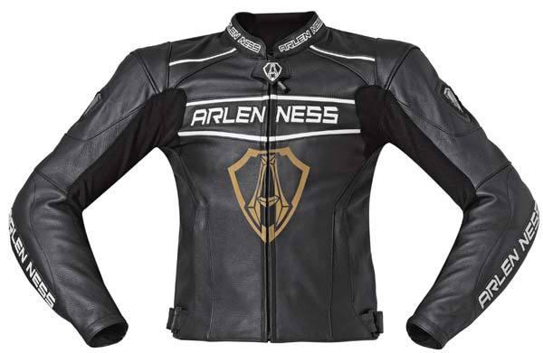 Arlen Ness Edge Leather Jacket バイク用品 メンズ バイクウェア モトクロス レザージャケット 革ジャン ライダースジャケット
