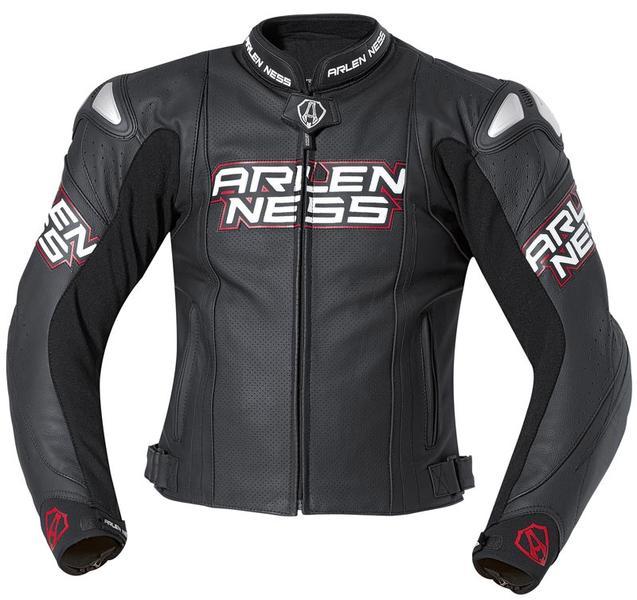 Arlen Ness Zamora Leather Jacket バイク用品 メンズ バイクウェア モトクロス レザージャケット 革ジャン ライダースジャケット