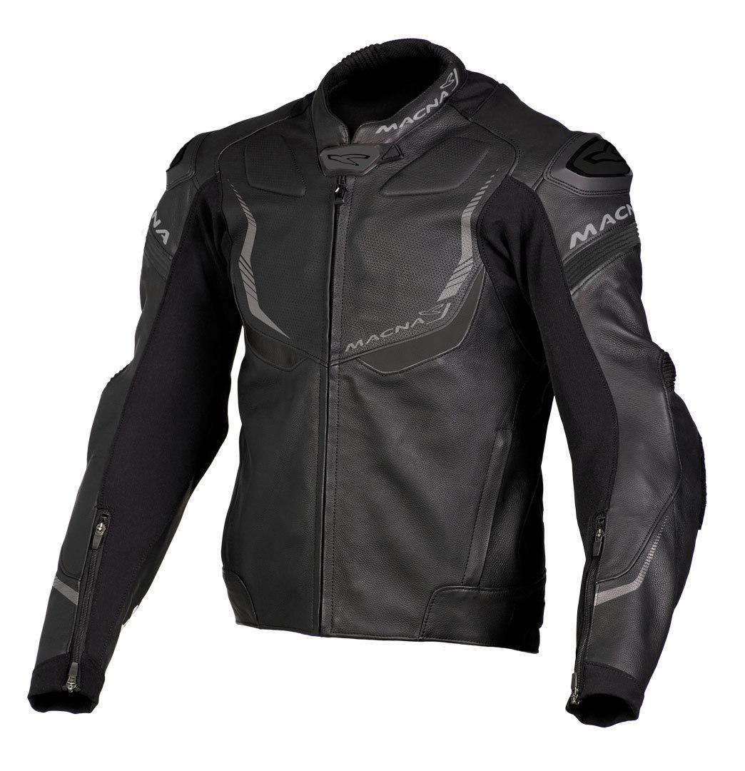 Macna Exone バイク用品 メンズ バイクウェア モトクロス レザージャケット 革ジャン ライダースジャケット