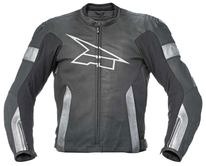 AXO XRV Evo バイク用品 メンズ バイクウェア モトクロス レザージャケット 革ジャン ライダースジャケット