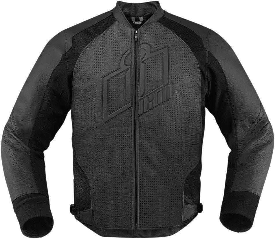 アイコン Icon Hypersport バイク用品 メンズ バイクウェア モトクロス レザージャケット 革ジャン ライダースジャケット