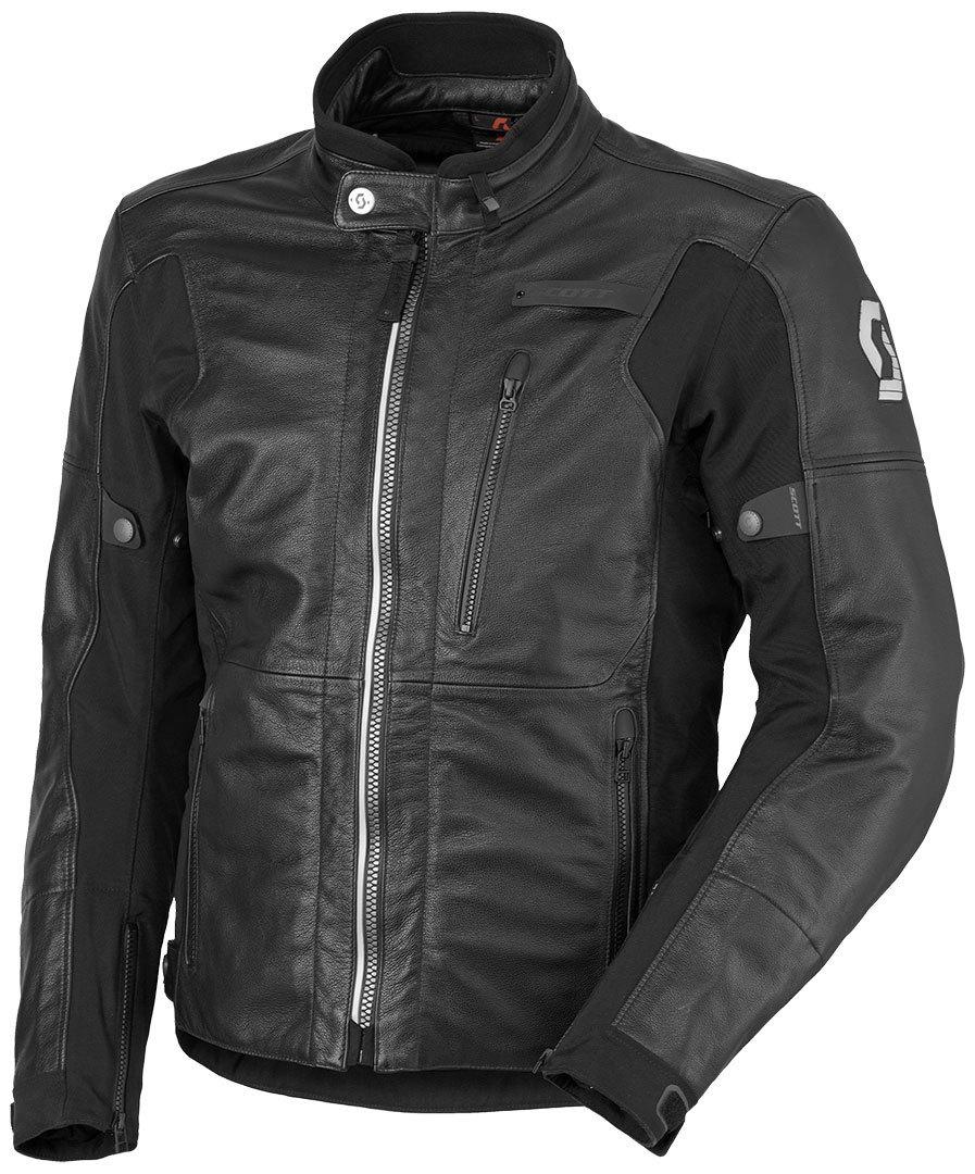 スコット Scott Tourance DP Leather Jacket バイク用品 メンズ バイクウェア モトクロス レザージャケット 革ジャン ライダースジャケット