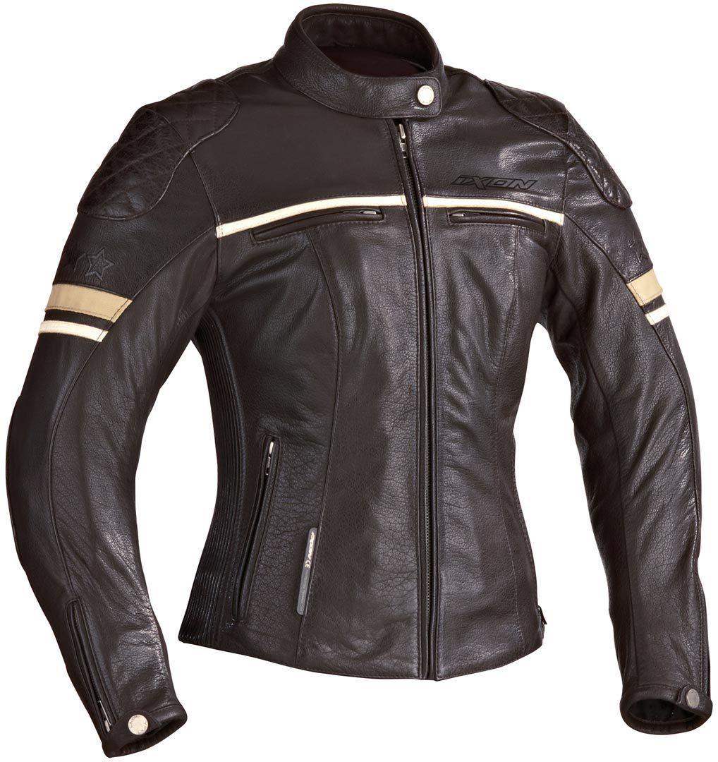 Ixon イクソン Motors Lady バイク用品 メンズ バイクウェア モトクロス レザージャケット 革ジャン ライダースジャケット