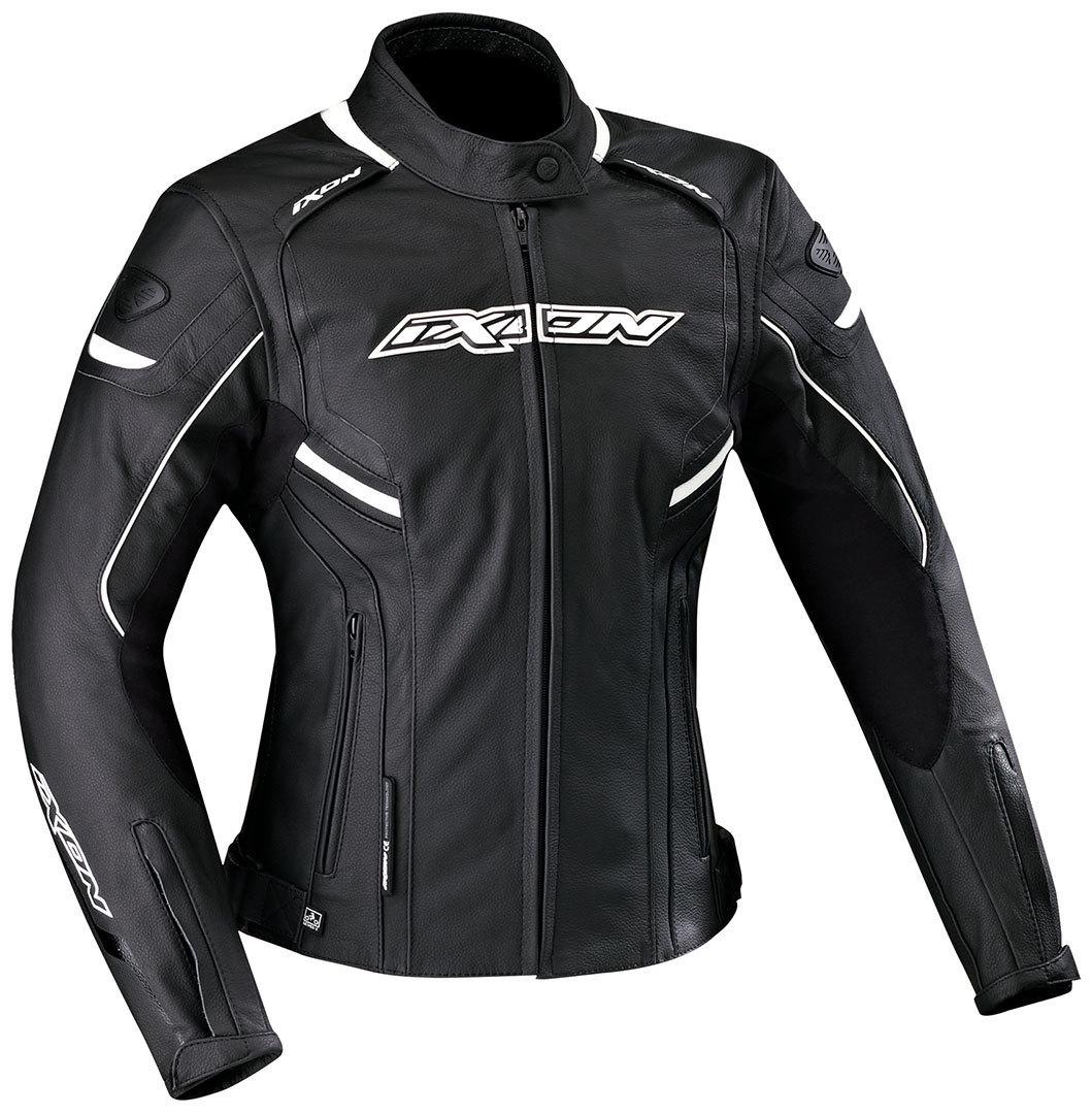 Ixon イクソン Stunter Lady Leather Jacket バイク用品 メンズ バイクウェア モトクロス レザージャケット 革ジャン ライダースジャケット