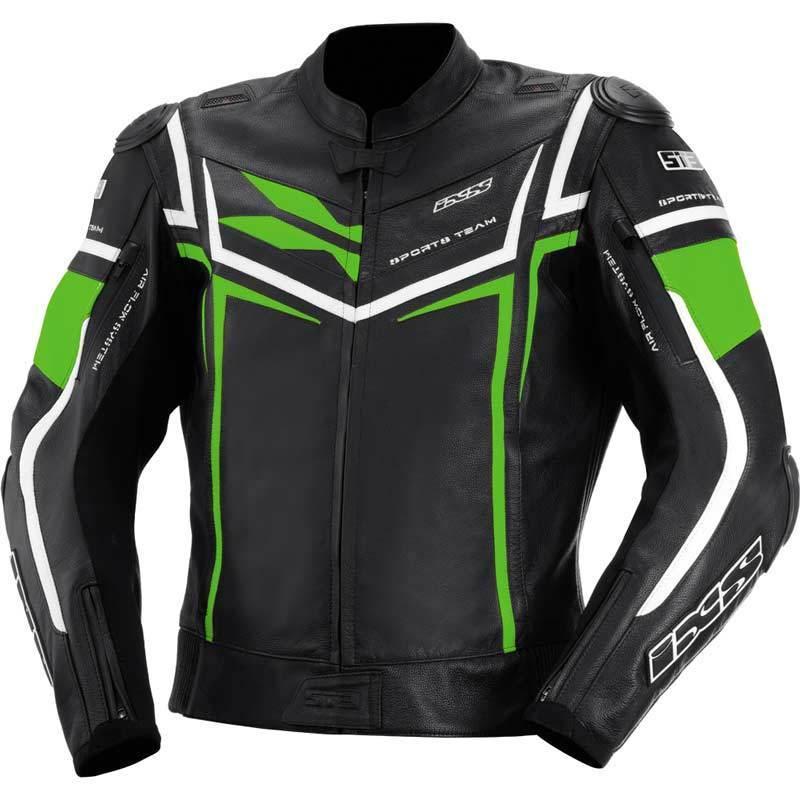 IXS イクス Sting バイク用品 メンズ バイクウェア モトクロス レザージャケット 革ジャン ライダースジャケット