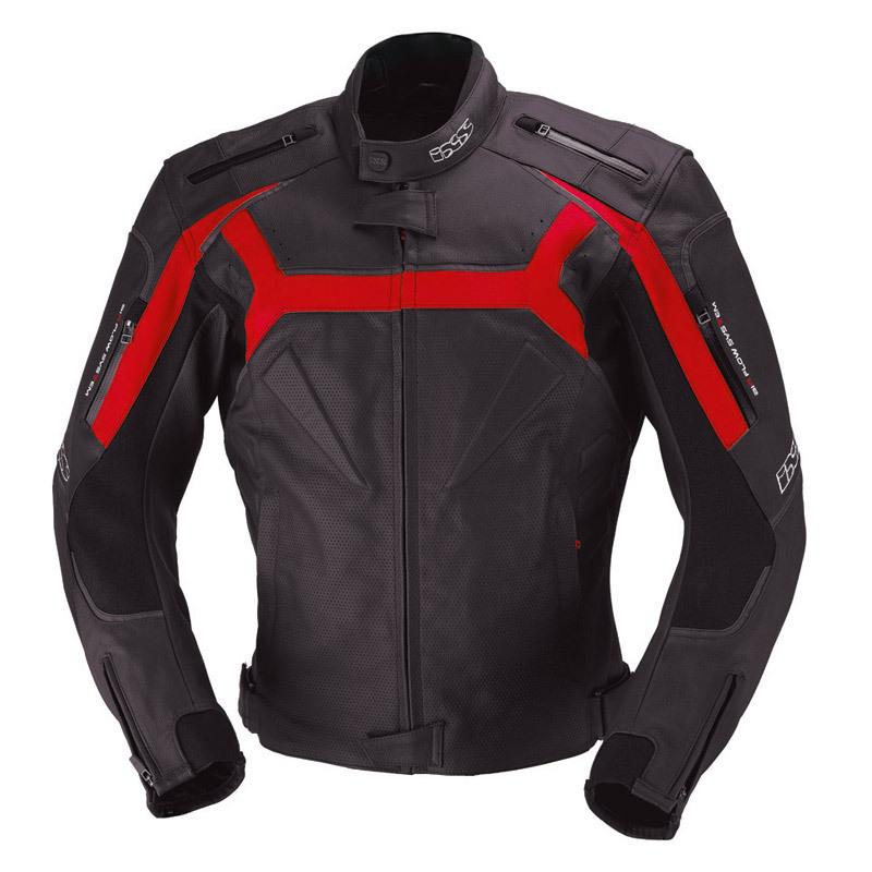 IXS イクス Dundrod バイク用品 メンズ バイクウェア モトクロス レザージャケット 革ジャン ライダースジャケット