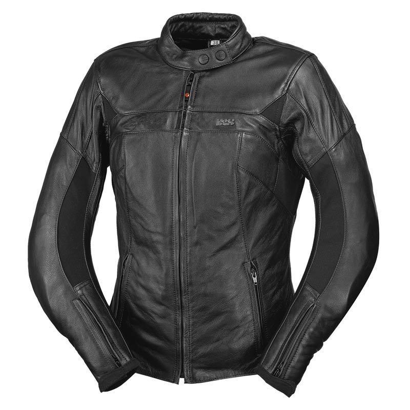 IXS イクス Leonie バイク用品 メンズ バイクウェア モトクロス レザージャケット 革ジャン ライダースジャケット