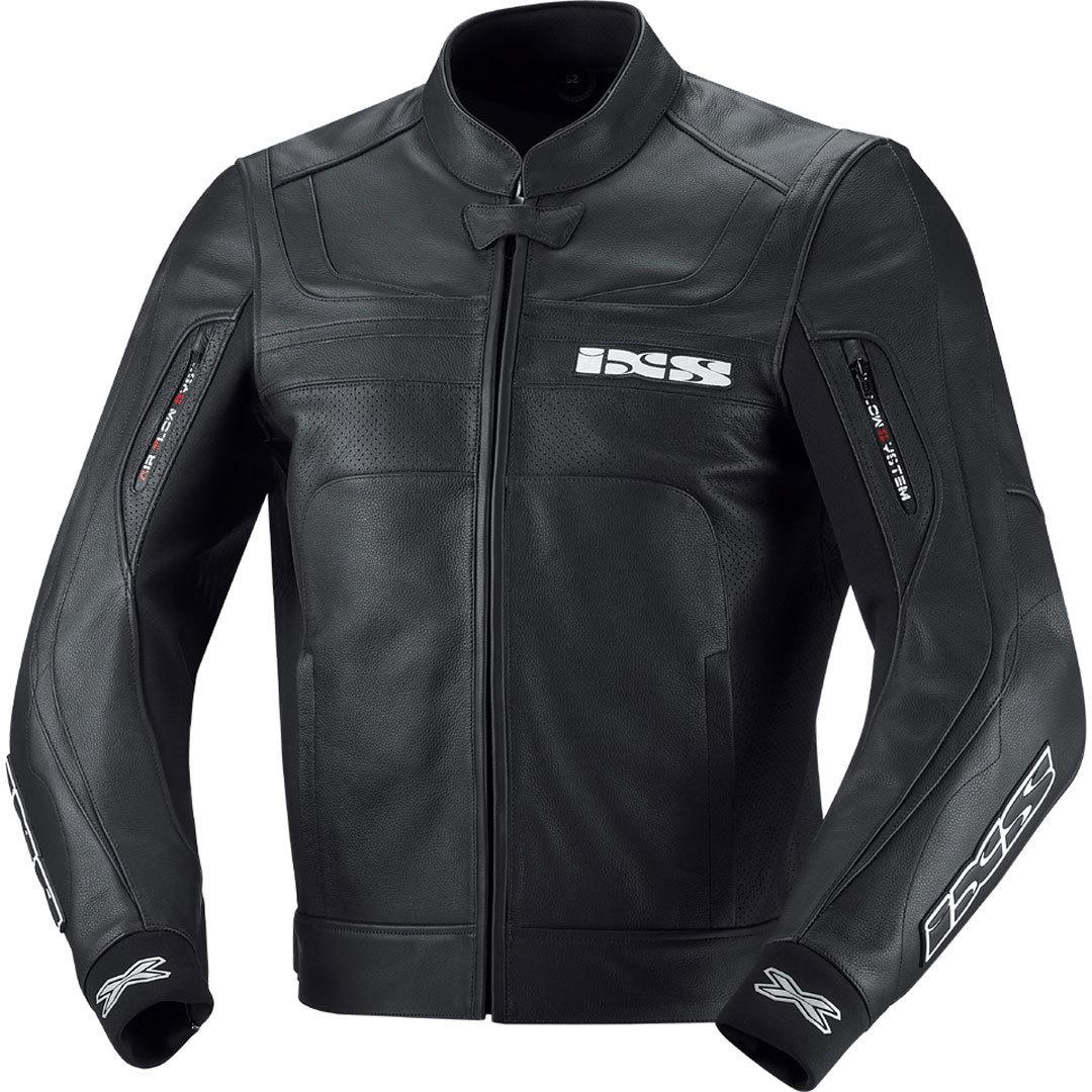IXS イクス Shertan Leather Jacket バイク用品 メンズ バイクウェア モトクロス レザージャケット 革ジャン ライダースジャケット