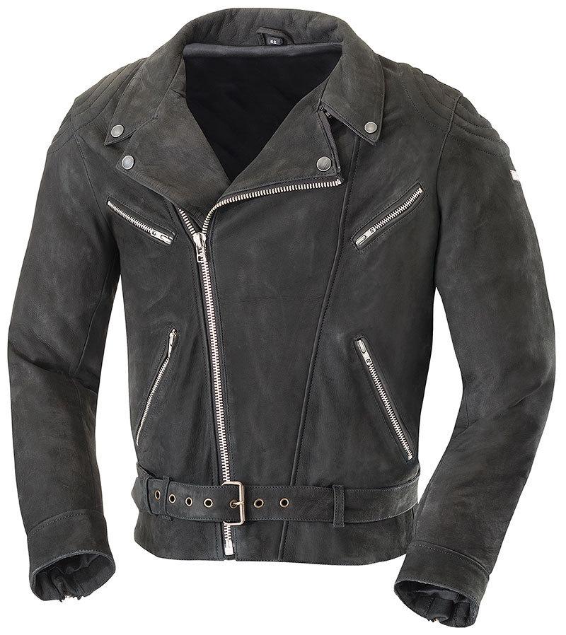 IXS イクス Nathan バイク用品 メンズ バイクウェア モトクロス レザージャケット 革ジャン ライダースジャケット