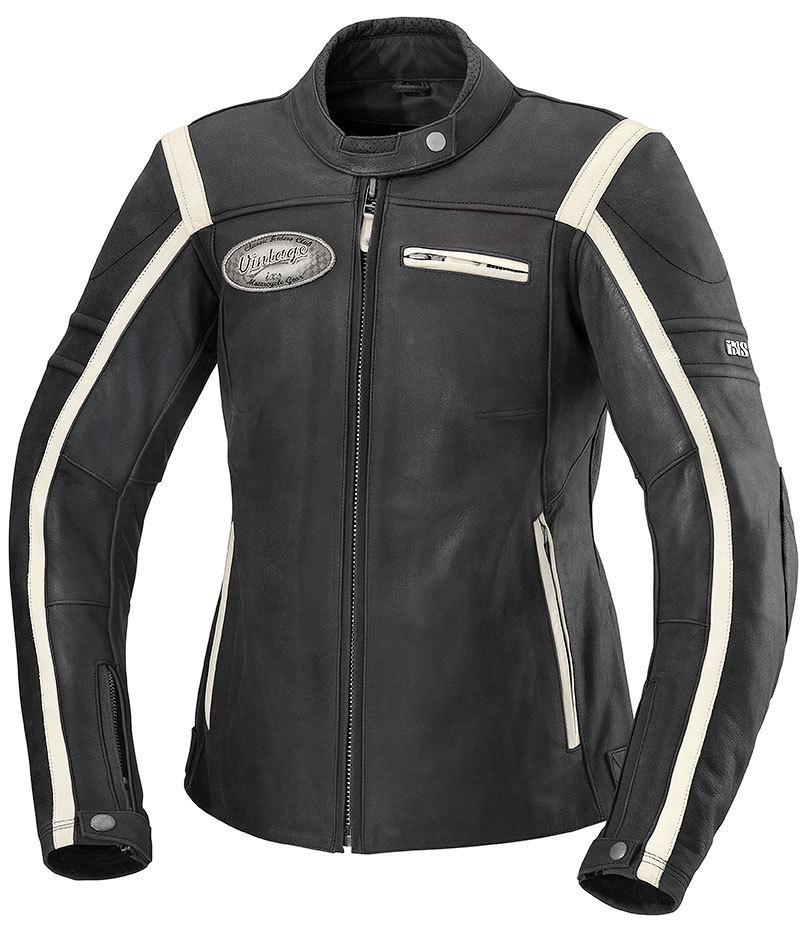IXS イクス Shawn Lady バイク用品 メンズ バイクウェア モトクロス レザージャケット 革ジャン ライダースジャケット