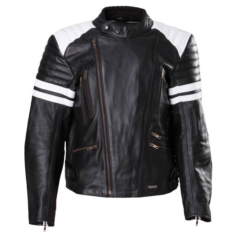 Modeka Leather Jacket Rock バイク用品 メンズ バイクウェア モトクロス レザージャケット 革ジャン ライダースジャケット