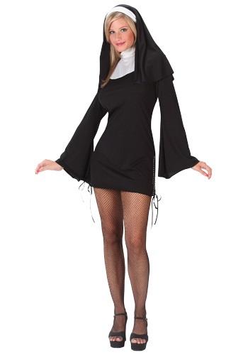 Naughty Nun コスチューム クリスマス ハロウィン レディース コスプレ 衣装 女性 仮装 女性用 イベント パーティ ハロウィーン 学芸会