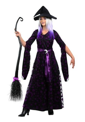 【ポイント最大29倍●お買い物マラソン限定!エントリー】Women's 大きいサイズ Purple Moon Witch コスチューム ハロウィン レディース コスプレ 衣装 女性 仮装 女性用 イベント パーティ ハロウィーン 学芸会