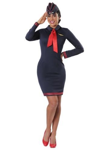 【ポイント最大29倍●お買い物マラソン限定!エントリー】Workin' the Skies Women's Flight Attendant コスチューム ハロウィン レディース コスプレ 衣装 女性 仮装 女性用 イベント パーティ ハロウィーン 学芸会