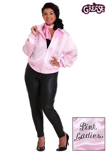 【ポイント最大29倍●お買い物マラソン限定!エントリー】Grease 大きいサイズ Pink Ladies コスチューム Jacket ハロウィン レディース コスプレ 衣装 女性 仮装 女性用 イベント パーティ ハロウィーン 学芸会