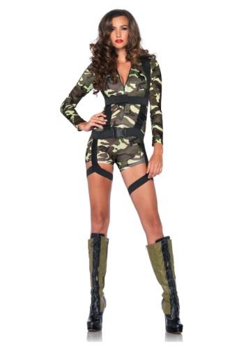 【ポイント最大29倍●お買い物マラソン限定!エントリー】Women's Goin' Commando Army コスチューム ハロウィン レディース コスプレ 衣装 女性 仮装 女性用 イベント パーティ ハロウィーン 学芸会