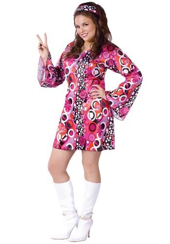 【ポイント最大29倍●お買い物マラソン限定!エントリー】大きいサイズ Feelin' Groovy Dress コスチューム ハロウィン レディース コスプレ 衣装 女性 仮装 女性用 イベント パーティ ハロウィーン 学芸会