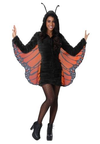 Women's Cozy Monarch Butterfly コスチューム クリスマス ハロウィン レディース コスプレ 衣装 女性 仮装 女性用 イベント パーティ ハロウィーン 学芸会