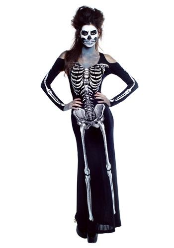 【ポイント最大29倍●お買い物マラソン限定!エントリー】Women's Bone Appetit Skeleton Long Dress コスチューム ハロウィン レディース コスプレ 衣装 女性 仮装 女性用 イベント パーティ ハロウィーン 学芸会