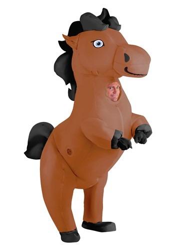 【ポイント最大29倍●お買い物マラソン限定!エントリー】Prancing Inflatable Horse For 大人用s ハロウィン レディース コスプレ 衣装 女性 仮装 女性用 イベント パーティ ハロウィーン 学芸会