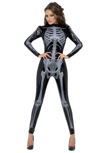 【ポイント最大29倍●お買い物マラソン限定!エントリー】Women's X-Ray Skeleton Jumpsuit コスチューム ハロウィン レディース コスプレ 衣装 女性 仮装 女性用 イベント パーティ ハロウィーン 学芸会