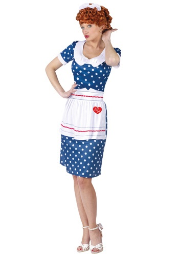 Sassy I Love Lucy コスチューム クリスマス ハロウィン レディース コスプレ 衣装 女性 仮装 女性用 イベント パーティ ハロウィーン 学芸会