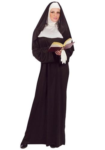 Mother Superior Nun コスチューム クリスマス ハロウィン レディース コスプレ 衣装 女性 仮装 女性用 イベント パーティ ハロウィーン 学芸会