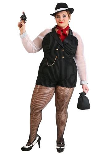 【ポイント最大29倍●お買い物マラソン限定!エントリー】Women's 大きいサイズ Gangster Gal コスチューム ハロウィン レディース コスプレ 衣装 女性 仮装 女性用 イベント パーティ ハロウィーン 学芸会