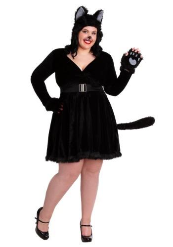 【ポイント最大29倍●お買い物マラソン限定!エントリー】大きいサイズ Women's ブラック Cat コスチューム ハロウィン レディース コスプレ 衣装 女性 仮装 女性用 イベント パーティ ハロウィーン 学芸会