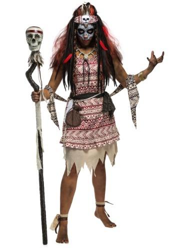 Voodoo Witch Women's コスチューム クリスマス ハロウィン レディース コスプレ 衣装 女性 仮装 女性用 イベント パーティ ハロウィーン 学芸会