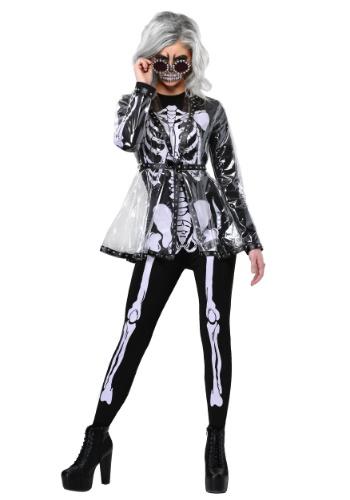 Women's Fierce Skeleton コスチューム クリスマス ハロウィン レディース コスプレ 衣装 女性 仮装 女性用 イベント パーティ ハロウィーン 学芸会