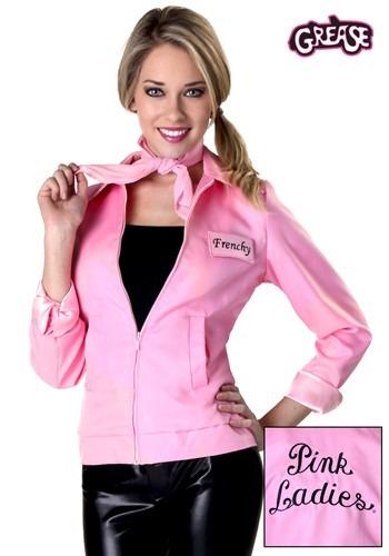 【ポイント最大29倍●お買い物マラソン限定!エントリー】Authentic Women's Grease Pink Ladies Jacket コスチューム ハロウィン レディース コスプレ 衣装 女性 仮装 女性用 イベント パーティ ハロウィーン 学芸会
