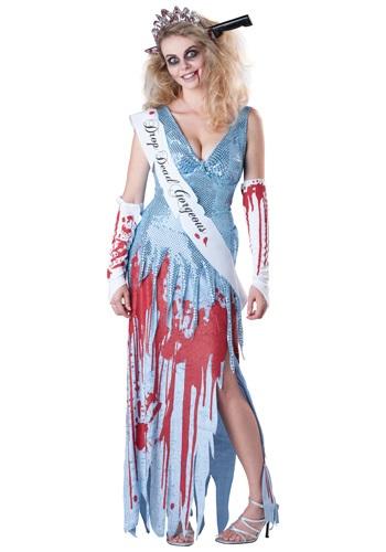 Drop Dead Prom Queen コスチューム クリスマス ハロウィン レディース コスプレ 衣装 女性 仮装 女性用 イベント パーティ ハロウィーン 学芸会