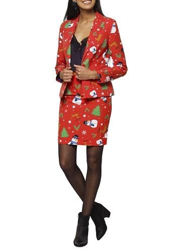 【ポイント最大29倍●お買い物マラソン限定!エントリー】Women's Ms. Christmas OppoSuit ハロウィン レディース コスプレ 衣装 女性 仮装 女性用 イベント パーティ ハロウィーン 学芸会