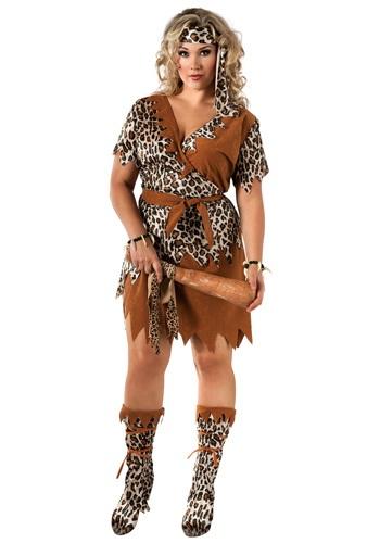 Cavewoman 大きいサイズ コスチューム クリスマス ハロウィン レディース コスプレ 衣装 女性 仮装 女性用 イベント パーティ ハロウィーン 学芸会