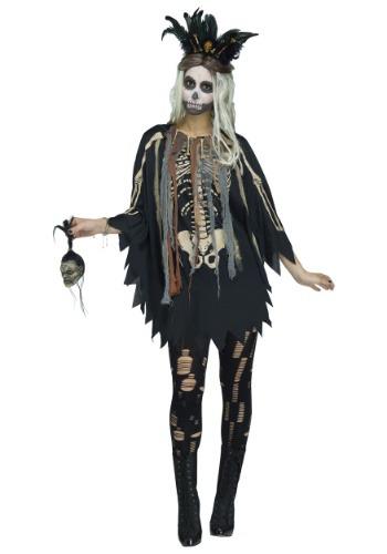 Voodoo Poncho コスチューム クリスマス ハロウィン レディース コスプレ 衣装 女性 仮装 女性用 イベント パーティ ハロウィーン 学芸会