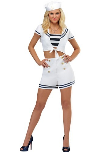 Nautical Women's Seven Seas Sailor コスチューム クリスマス ハロウィン レディース コスプレ 衣装 女性 仮装 女性用 イベント パーティ ハロウィーン 学芸会
